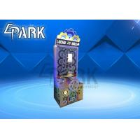 Buy cheap Coin Operated Lucky Lottery Ball Machine / Lottery Ticket Game Machine product