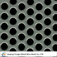 Buy cheap Perforated Mesh Sheet|Round Hole Shape  0.5-5mm Thickness Customized Size product