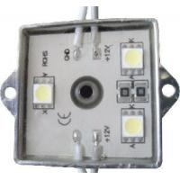 Buy cheap 3-SMD 5050 Water Proof LED Module 35*35mm (LED Module-LBY-5F12T3535-3CWF) product