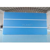Buy cheap Blue 6x3x0.2m Inflatable Air Track For Swimming Pool Floating Mat product