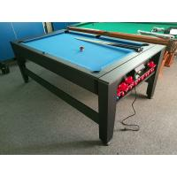 Buy cheap Supplier 7FT Swivel Table Multi-Game Table 2 In 1 Pool Table And Air Hockey product