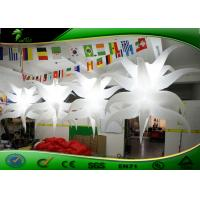 Buy cheap Customized Inflatable Lighting Decoration / Inflatable Air Star Balloon For Party product