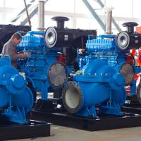 Buy cheap Diesel Engine Driven Emergency Fire Pump With 20-1227Kw Power NFPA20 Approved product