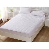 Buy cheap Luxury Double Foam Mattress Protector Polyester Anti Bacterial product