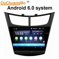 China Ouchuangbo car radio touch screen gps nav android 6.0 for Chevrolet Sail 2015 with  gps navi AUX USB 32 GB on sale