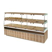 Buy cheap High End Glass Bakery Display Cases Non Refrigerated Non Toxic Materials product
