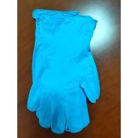 Buy cheap Custom Made Length : 240mm Compound Nitrile Gloves / Thickness : Thin product