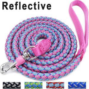 Buy cheap Mountain Climbing Braided Nylon Rope Dog Leash , Dog Training Leash With Lock Catch product
