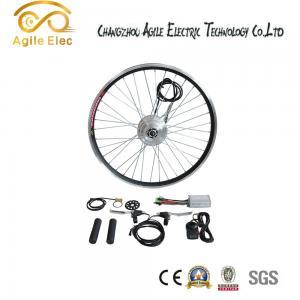 36V 350W Black Brushless Gearless Hub Motor Kit For Any Bikes