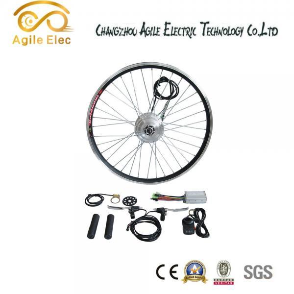 Quality 36V 350W Black Brushless Gearless Hub Motor Kit For Any Bikes for sale