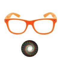 Buy cheap Print your Logo Plastic Diffraction Glasses Spiral Rave Fireworks Glasses from wholesalers