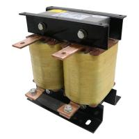 Buy cheap Low Noise 110A Dry Type Reactor Three Phase For 37KW VFD Input Line AC Reactor product