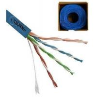 Buy cheap 350 MHz UTP CAT5E Network Cable 24 AWG Solid Copper with CM Rated PVC Jacket product