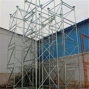 Standard Construction Formwork Scaffolding Systems , Steel Ring Lock System Scaffolding