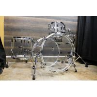Quality Pearl Crystal Beat Clear Acrylic 3-piece drum set - New! for sale