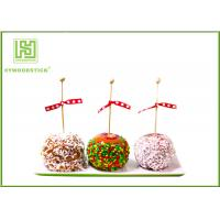 Buy cheap Healthy Cake Ball Sticks 150 X 3.0mm , Logo Printed Personalized Wooden Candy Sticks product