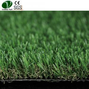 Buy cheap Green Forever Garden Synthetic Turf Field / False Garden Plastic Grass product