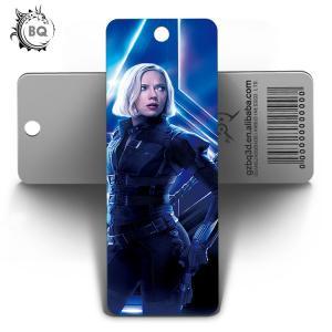 Buy cheap Marvel Heros Design PET 3D Lenticular Bookmark 0.6mm PET+157g Coated Paper product