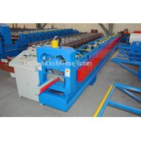 Buy cheap Construction Water System Roofing Sheet Gutter Roll Forming Machine 18 Rows product