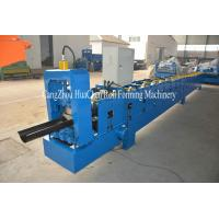 Buy cheap 7.5kw Main Motor Gutter Roll Forming Machine Controlled by PLC with Hydraulic System product