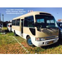 Buy cheap Small 20 - 30 Seats Used Coaster Bus , Diesel Engine Used Toyota Coaster Bus product