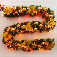 Buy cheap 2.7M LED Christmas Garland from wholesalers