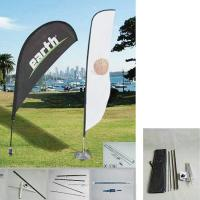 """Buy cheap 50.8""""W x 157.5""""H outdoor feather banners /  Promotion Feather Flag and teardrop product"""