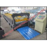 Buy cheap Strong Corrugated Sheet Roll Forming Machine With Mitsubishi PLC Control from Japan product