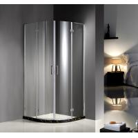 Buy cheap 900X900X1900 6MM tempered glass Professional Hinged Quadrant Shower Enclosure , Curved Corner Shower Units product