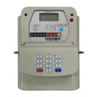 Buy cheap STS Steel Material Smart Keypad Prepaid Gas Meter With Gas Vending System tamper protection product