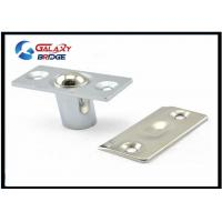 Buy cheap Stainless Steel Glass Door Stopper , Brushed Satin Nickel Hydraulic Magnetic Door Catch product