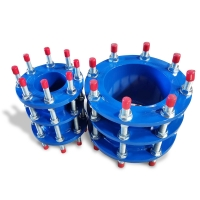 Buy cheap Ductile Iron Pipe DN50 Flanged Dismantling Joint product