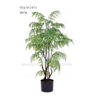 Buy cheap Premium Artificial Fern Tree , Artificial Maidenhair Fern Handcrafted Asethetic product
