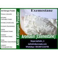 China White powder Anti Estrogen Steroids Aromasin ( Exemestane ) For Steroid Cycle PCT107868-30-4 on sale