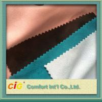 Buy cheap 100 to 180g/m2 weight 140 to 150cm width multi-colors and different styles suede fabric product