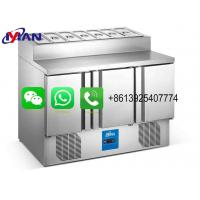 China Foshan Yanman Stainless steel commercial SALADETTE REFRIGERATOR for sale on sale