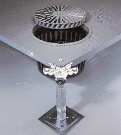 Cheap XL-4001 steel air-flow raised floor wholesale