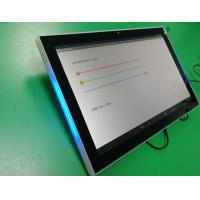 Buy cheap Onwall mount 10 inch IPS display monitor with LED Indication bar for Conference room reservation product
