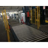 Full automatic pallet wrapper machine,MH-FG-2000D line with automatic up and
