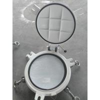 Buy cheap Fixed Model Portlights Marine Windows Marine Ships Scuttle Window With Storm Cover product