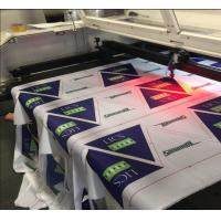 Buy cheap Polyester Fabric Vision Laser Cutting Machine For Flag Display Signage And Banner product
