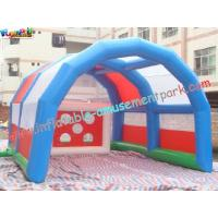 Buy cheap Commercial grade PVC tarpaulin Outdoor Blow up Football Inflatable Sports Games for Rent product