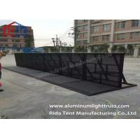 Buy cheap Traffic Portable Crowd Barriers Aluminum Alloy Material Foldable Solid Frame product