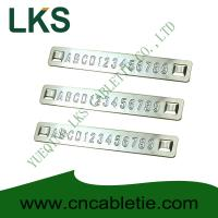 Buy cheap Embossed Stainless steel tags product