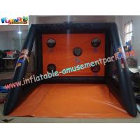 Buy cheap Customized Large 0.55mm PVC tarpaulin Inflatable Shoot Inflatable Sports Games for home product