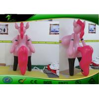 Buy cheap Standing Pink Sex Toy Inflatable Cartoon Characters For Entertainment product