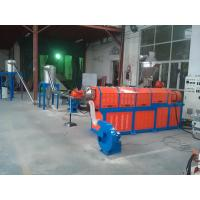 Buy cheap Filler Masterbatch Plastic Granules Making Machine Twin Screw Extruder CE SGS product