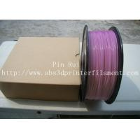Buy cheap High Quality 3D Printer Filament PLA 1.75mm 3mm For White To Purple  Light change  filament product