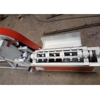Buy cheap Smooth Incision Steel Wire Straightening Cutting Machine , Cold Wire Drawing Rebar Straightening Machine product