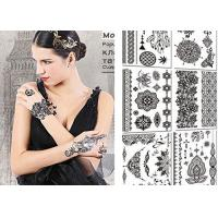 Buy cheap Sexy Body Black And White Tattoo Stickers , Long Lasting Fake Tattoos Stickers product